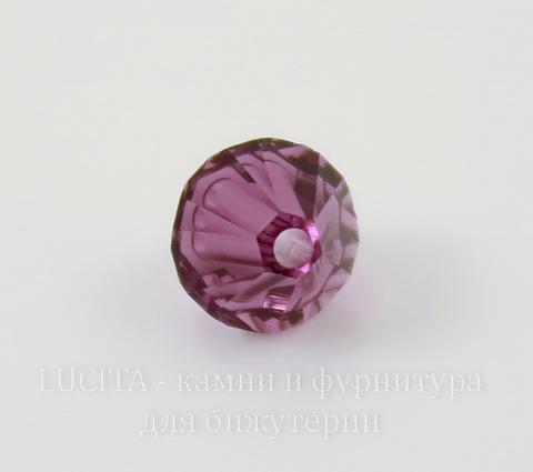 5328 Бусина - биконус Сваровски Amethyst 6 мм, 5 штук