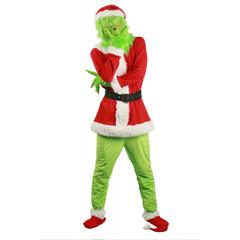 Санта Гринч костюм для взрослых