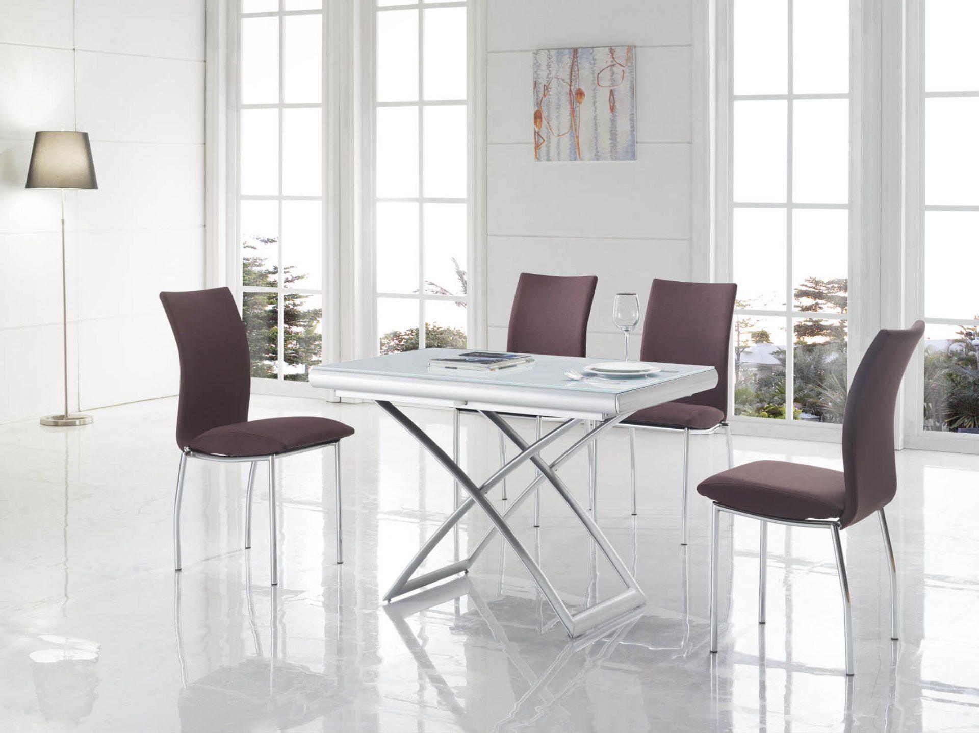 Стол ESF СT2293 белый