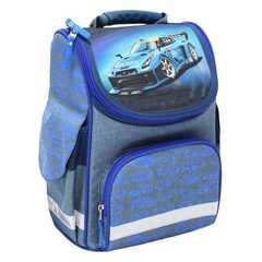 Рюкзак школьный каркасный Bagland Успех 12 л. Синий (56м) (00551692)
