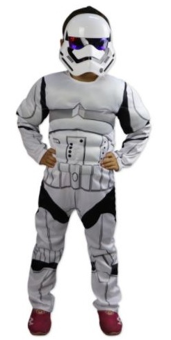 Звездные войны костюм Имперский Штурмовик с мускулами — Star Wars Stormtrooper Child Costume