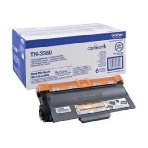 Картридж TN-3380 для принтеров Brother HL-54xx, 6180DW, DCP-8110DN, 8250DN, MFC-8520DN, 8950DW (Ресурс 8000 страниц)