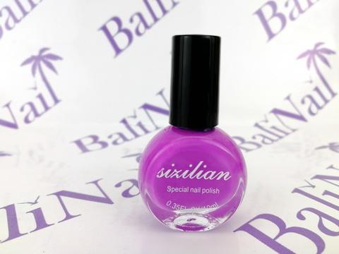 Краска для стемпинга фиолетовая (017), 10 мл