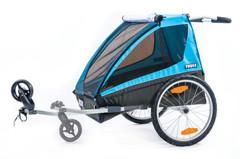 Детская коляска-велоприцеп Thule, Chariot Coaster2 (XT), 1-2-мест. + ПОДАРОК