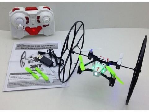 Радиоуправляемый вертолет (квадрокоптер) Sky Walker UFO-1310 (HM1310)