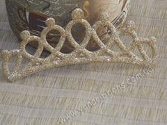 Заготовка Корона овальная перфорация золотая (уценка)