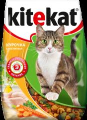 Kitekat Аппетитная курочка корм для взрослых кошек с курицей