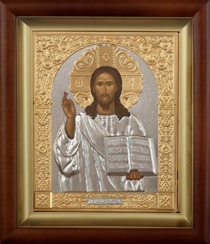 Икона Спасителя, поясная