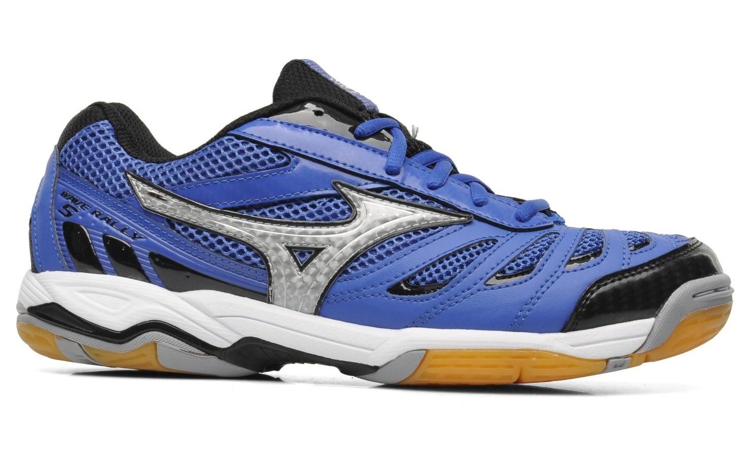 Мужские волейбольные кроссовки Mizuno Wave Rally 5 (V1GA1440 03) синие