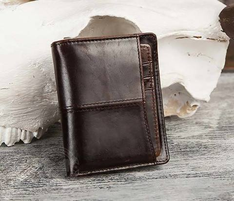 Классическое мужское портмоне со съемным кардхолдером