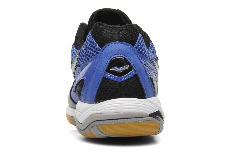Мужские волейбольные кроссовки Mizuno Wave Rally 5 (V1GA1440 03) синие пятка