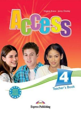 Access 4. Teacher's Book. Intermediate. Книга для учителя.