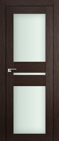 Дверь Profil Doors №70Х, стекло матовое, цвет венге мелинга, остекленная