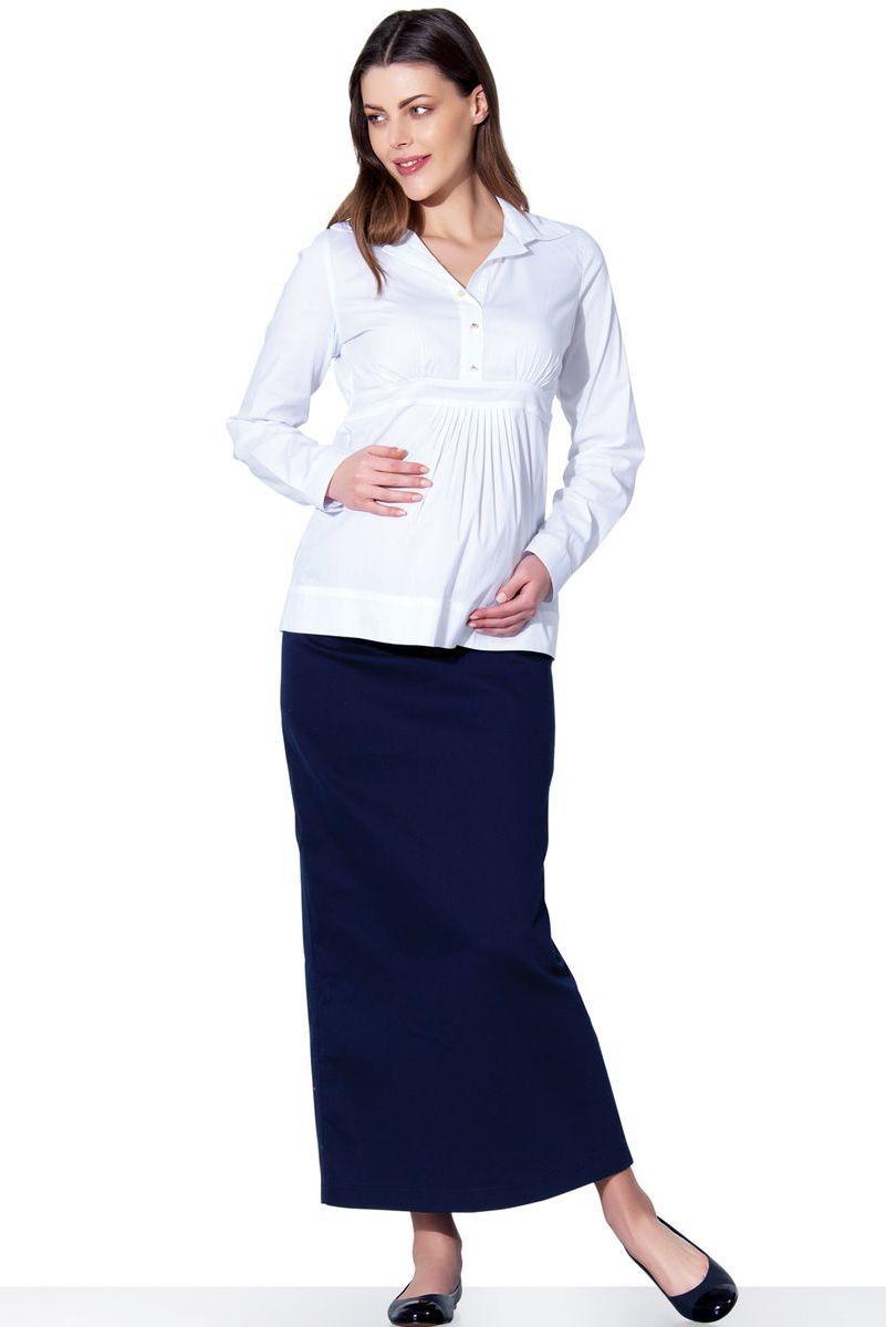 Блузка для беременных 01323 белый