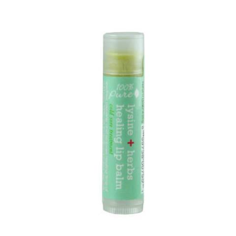 Бальзам для губ Лизин+Лечебные травы 100% Pure