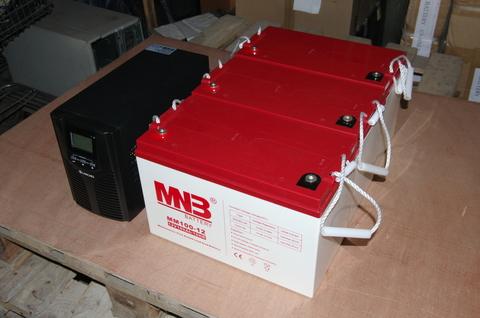 Аккумулятор MNB MM 100-12 - фото 5