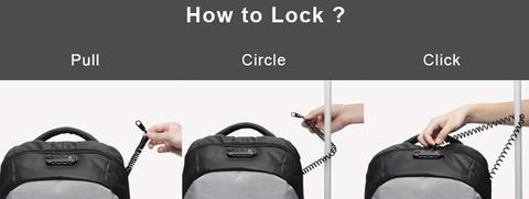 Рюкзак Korin ClickPack Basic Black, фото 12