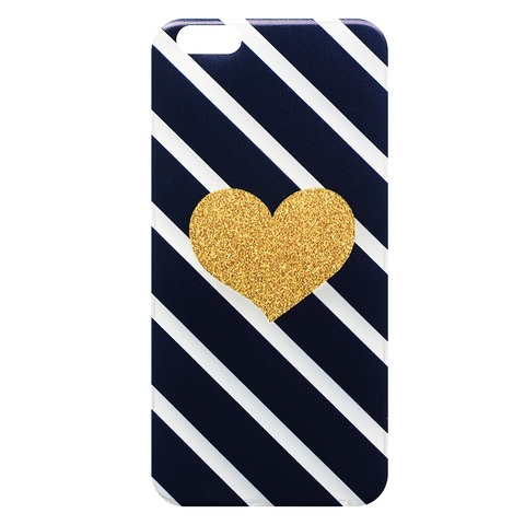 Чехол для IPhone 6 Plus Gold Heart