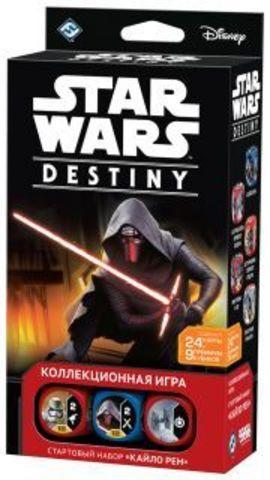 Star Wars: Destiny. Стартовый набор «Кайло Рен» (на русском языке)