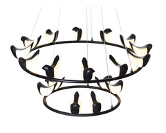 люстра Creative Bird Chandelier 12+6R