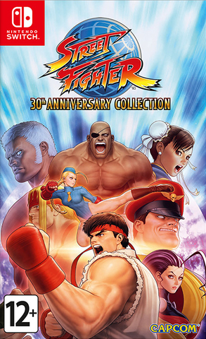 NS: Street Fighter 30th Anniversary Collection (русская документация)