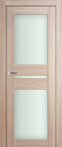Дверь Profil Doors №70Х, стекло матовое, цвет капучино мелинга, остекленная