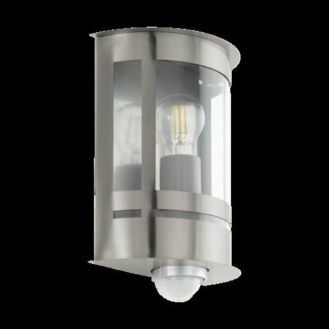Уличный светильник с датчиком движения и с сенсором DAY & NIGHT Eglo TRIBANO 97284