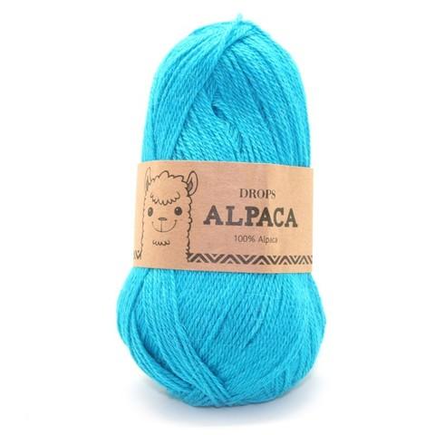 Пряжа Drops Alpaca 2918 темно-бирюзовый