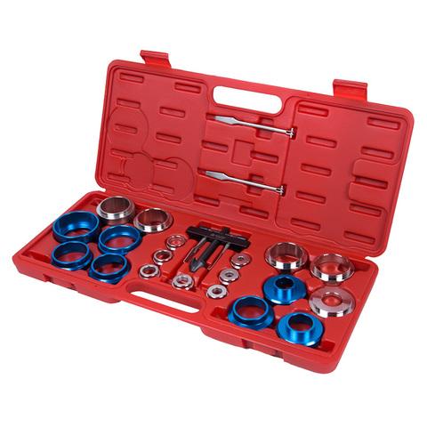 МАСТАК (103-80022C) Набор оправок для монтажа и демонтажа сальников, 27-58 мм, кейс, 22 предмета