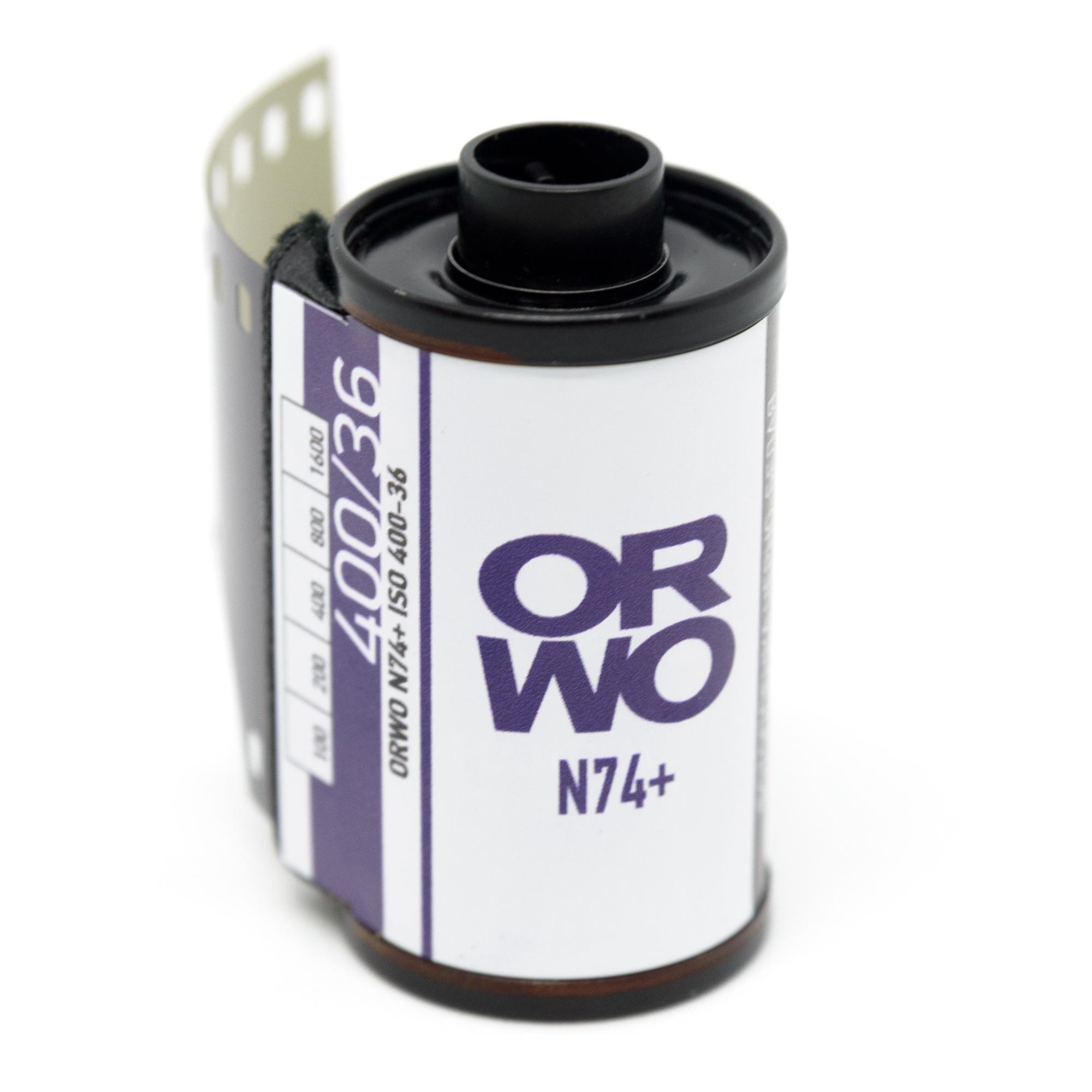 Фотопленка ORWO N74+ ISO400 135/36
