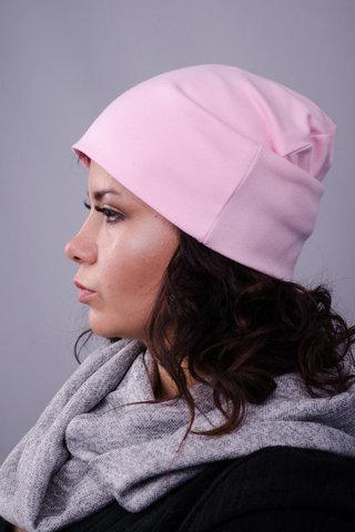 Фэшн. Молодёжные женские шапки. Персик.