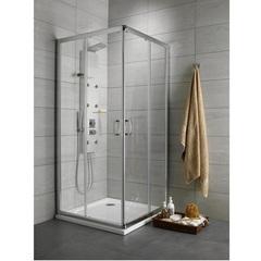Душевой уголок 90х90х190 см с раздвижными дверьми Radaway Premium Plus C/D 30453-01-01N фото