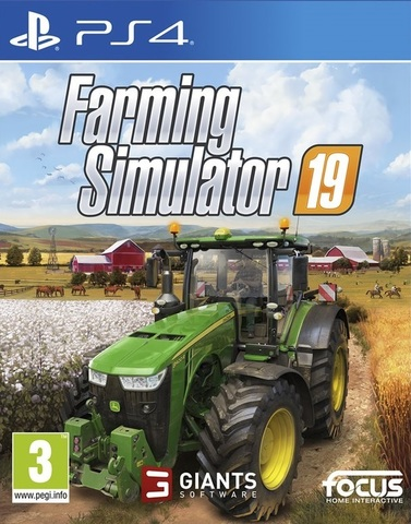 PS4 Farming Simulator 19 (русская версия)