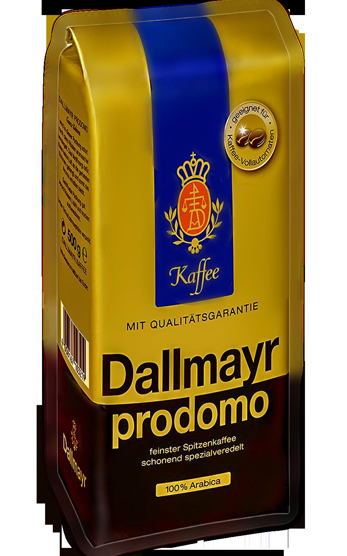 Кофе в зернах Dallmayr Prodomo 500 1