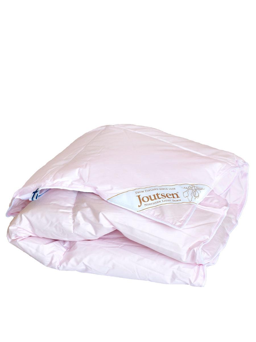 Joutsen одеяло детское 80х110 120 гр средне-теплое розовое