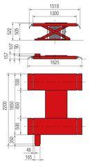 Подъемник ножничный BUTLER Solidus 25А (Италия)