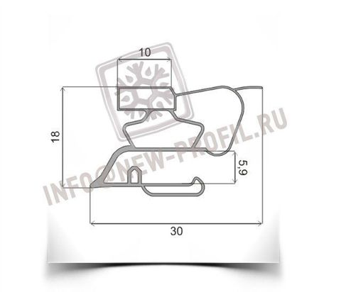 Уплотнитель для холодильника Аристон MB 2185NF.019 х.к 1010*570 мм (015)