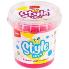 Slaym Lori Style Slime 130ml çəhrayı çiyələk qoxusu ilə