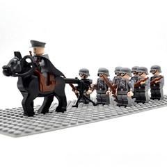 Минифигурки Военных Немецкая Армия серия 332