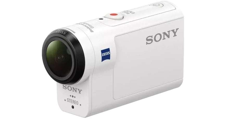 Экшн-камера Sony HDR-AS300 вид сбоку