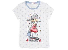 6200-2 футболка детская, белая