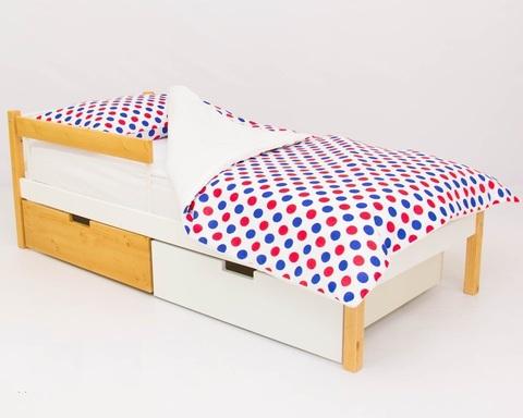 Кровать ФОРЕСТ дерево-белый