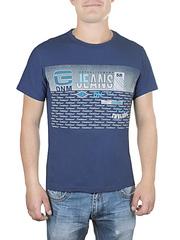 17611-9 футболка мужская, синяя