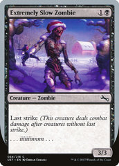 Extremely Slow Zombie (Winter) (Фойл, Английский)