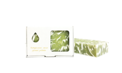 Мыло натуральное /органика/ МИМОЗА в упаковке/ ТМ ИСКУСЪ