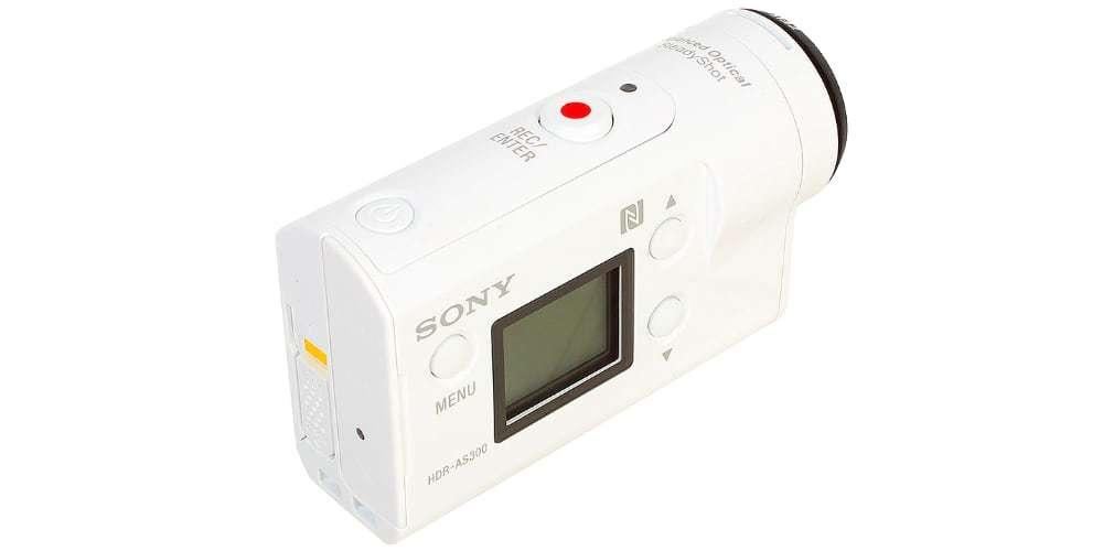 Экшн-камера Sony HDR-AS300 вид сверху