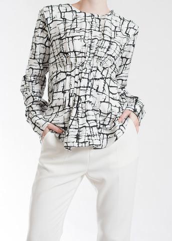 Блуза из шелка MARNI