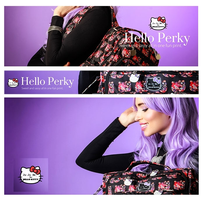 #Сумочка Ju-Ju-Be BeQuick Hello Kitty Hello Perky
