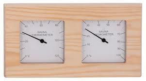 Термометры и гигрометры: Термогигрометр SAWO 224-THP (прямоугольный)