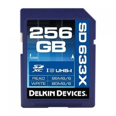 Карта памяти Delkin Devices Best SDXC 256GB Elite 633X UHS-I Class 3